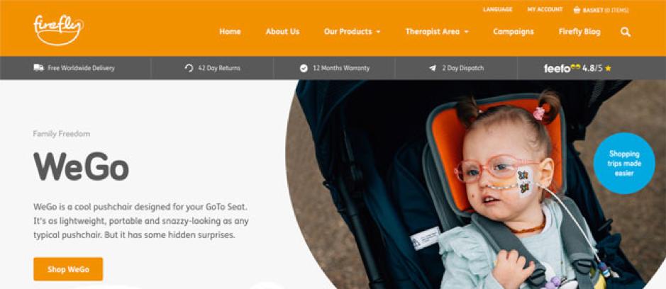 Firefly homepage
