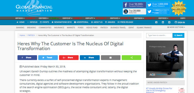 GFM Review – The Nucleus Of Digital Transformation