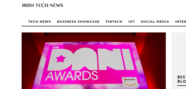 Irish Tech News – DANI Awards Major Success